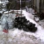 Утилизация мусора при ремонте