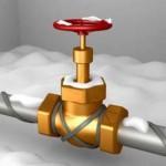 Как защитить трубы от замерзания