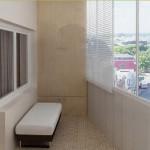 Планировка и интерьер балкона